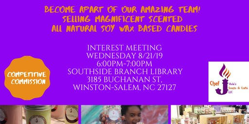 Chef J'Avia Scents Consultant Interest Meeting