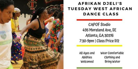 African Dance Class - Atlanta tickets