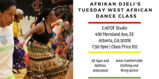 African Dance Class - Atlanta