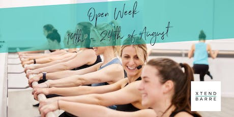Xtend Barre Osborne Park - Open Week tickets
