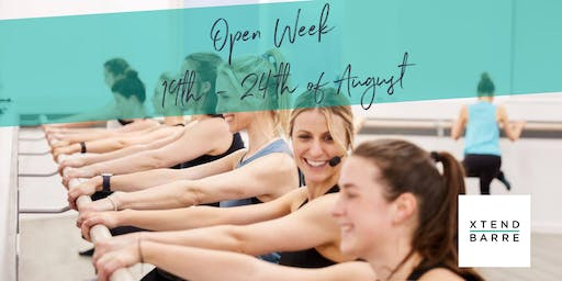Xtend Barre Osborne Park - Open Week