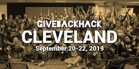 GiveBackHack Cleveland 2019 tickets
