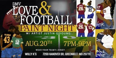 DMV Love & Football Paint Night tickets