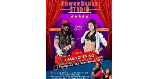 PowerHouse Studio Grand Opening MC Celebration