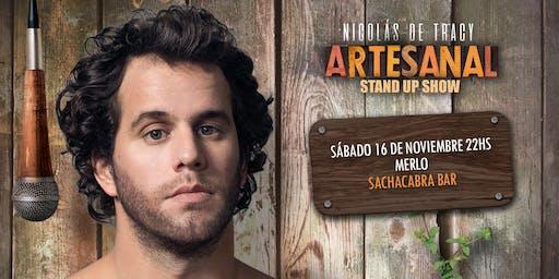 "Nico De Tracy  presenta ""Artesanal "" Stand Up"