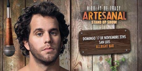 Nico de Tracy - Artesanal Stand Up San Luis entradas