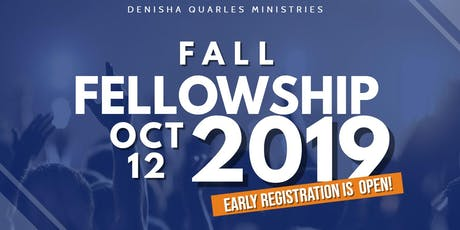 2019 DQM Fall Fellowship tickets
