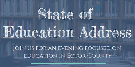 Young Professionals of Odessa Presents: State of Education Address tickets