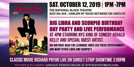 The Classic Black Movie Brunch and Day Party Series Libra and Scorpio Party tickets