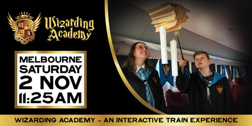 Wizarding Academy Express Melbourne: 11:25am - 2 November, 2019