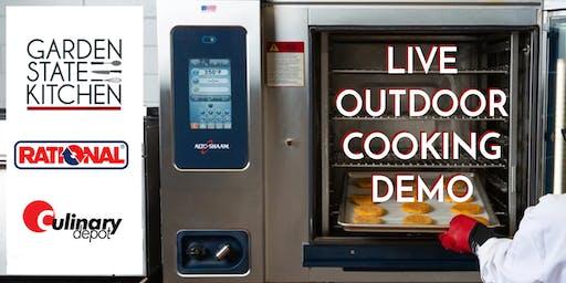 Live Outdoor Cooking Demo