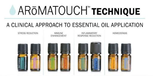 SOUTH WEST ROCKS AROMATOUCH TECHNIQUE CERTIFICATION TRAINING