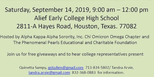 """College IS An Option"" Seminar"