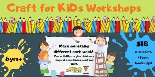 Chittering Creative Kids - Craft for KiDs Workshops - late registration