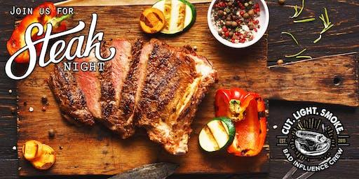 BIC Steak Night