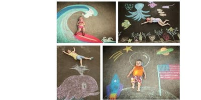 Grand Chalk Pavement Drawing Challenge