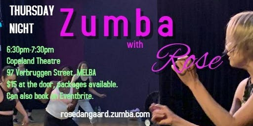 Thursday Night Zumba with Rose
