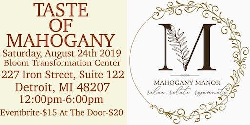 Taste of Mahogany Manor