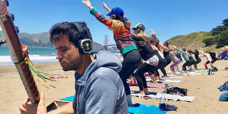 Mystical Sound Journey :: Sunday Beach Yoga with Julianne and live music by Ege Sanli tickets