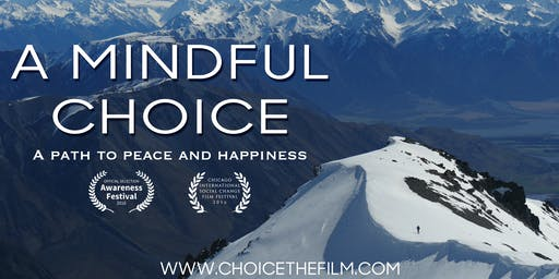 A Mindful Choice Movie Screening for Campaign for Nonviolence Week