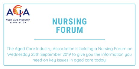 Nursing Forum tickets