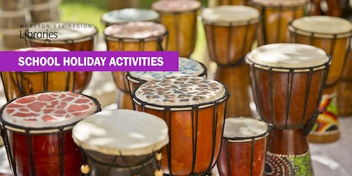 Drumming for Life (13-17 years) - North Lakes Library