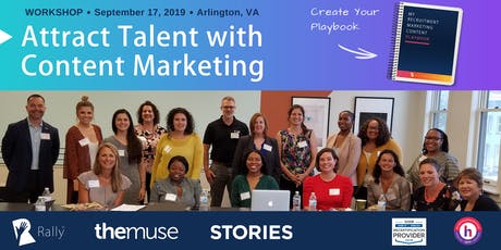 Workshop: Create Your Recruitment Marketing Content Playbook [Arlington, VA] tickets