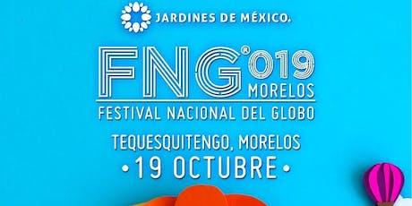 Festival Nacional del Globo Morelos FNG2019 billets