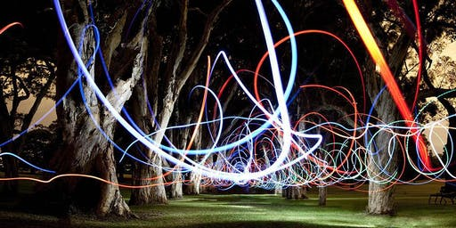 Haig Park Light Painting Workshop (for young adults)