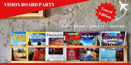 Vision Board Party - Travel Edition