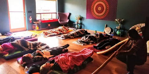Sound Resonance Healing with Didjeridoos & Singing Bowls