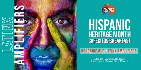 Hispanic Heritage Month Cafecitos: Honoring our 2019 Latinx Amplifiers tickets