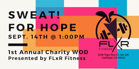 SWEAT! for Hope tickets