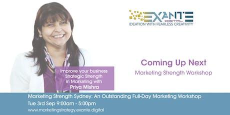 Strategic Strength Sydney:  An Outstanding Full-Day Marketing Workshop tickets