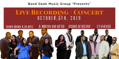 "Band Geek Music Group ""Presents"" Live Recording / Concert"