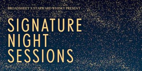 Broadsheet x Starward Signature Night Sessions  tickets