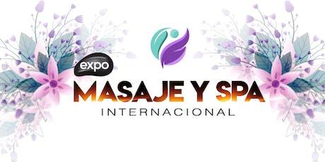 Expo Masajes y Spa Internacional entradas
