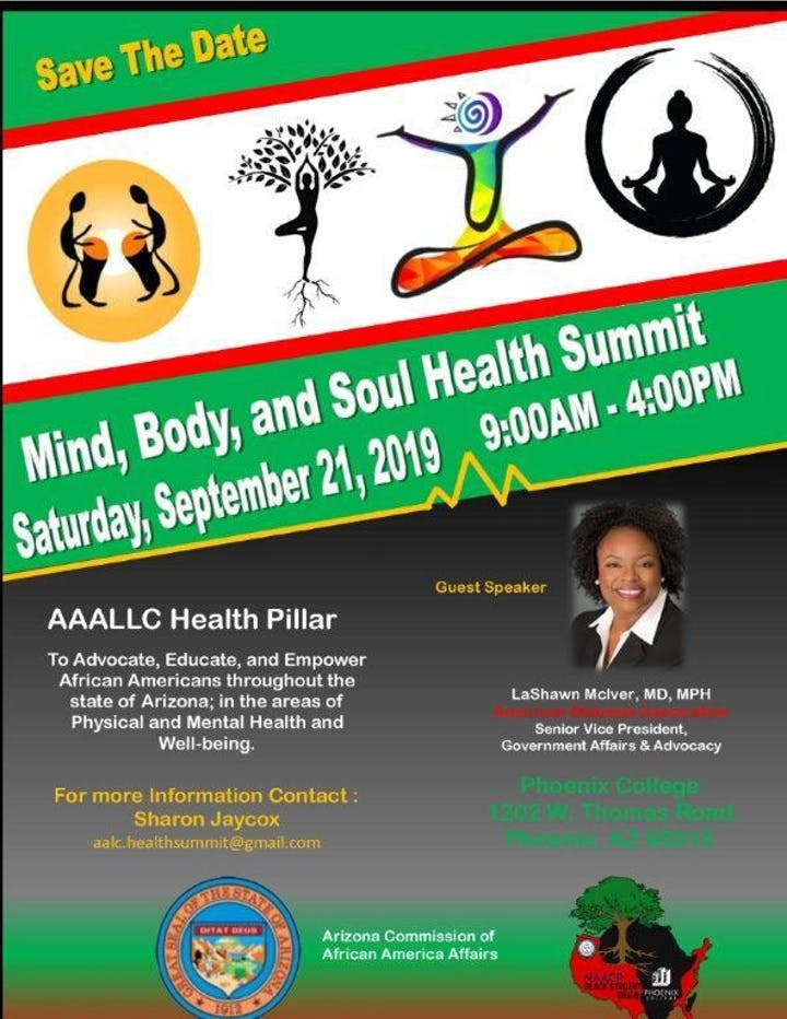 Mind, Body and Soul Health Summit Tickets, Sat, Sep 21, 2019 at 9:00