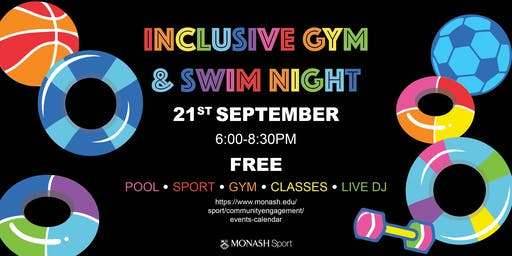 Inclusive Gym & Swim Night