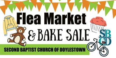Annual Pastor's Aide Flea Market and Bake Sale at SBC of Doylestown
