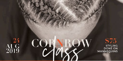 Cornrow Class - August 24, 2019