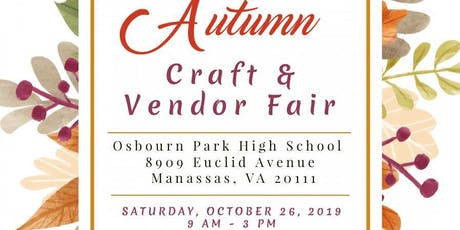 Autumn Craft & Vendor Fair tickets