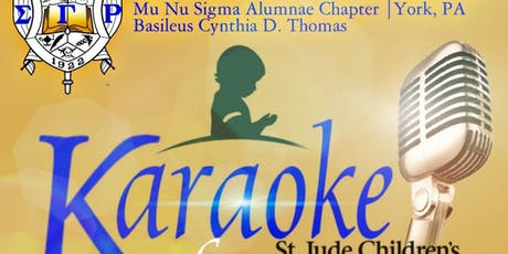 2019 Karaoke for St Jude's with Mu Nu Sigma tickets
