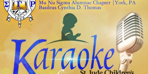 2019 Karaoke for St Jude's with Mu Nu Sigma