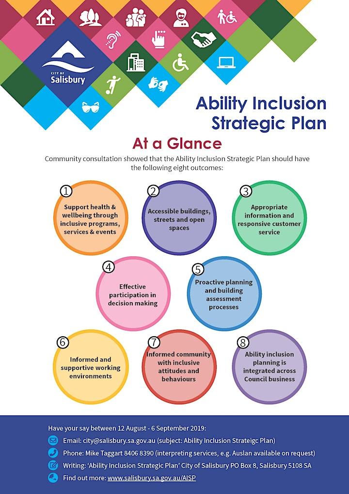Ability Inclusion Strategic Plan Feedback image