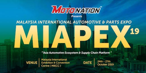Malaysia International Automotive & Parts Expo 2019 (MIAPEX19) -Visitors