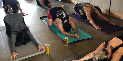 Brewery Yoga x Asylum Brewing