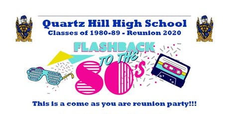 QHHS Classes of 1980-89 Reunion 2020 tickets