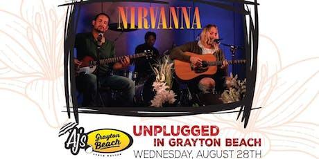 Nirvanna MTV Unplugged Concert at AJ's Grayton Beach tickets