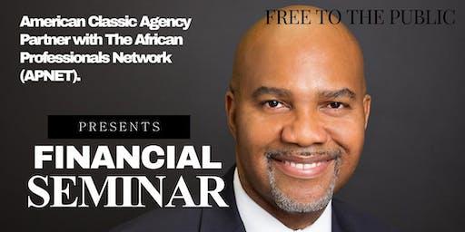 Financial Networking Seminar